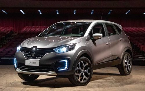 O premiado design do SUV Renault Captur